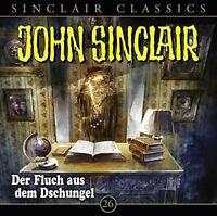 JOHN SINCLAIR CLASSICS - FOLGE 26: WENN DER WERFOLF HEULT   CD NEW