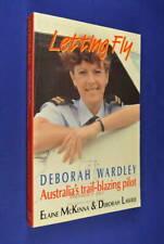 LETTING FLY DEBORAH WARDLEY Elaine McKenna FEMALE AIRLINE PILOT ANSETT Book