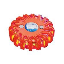 10 X Luz Intermitente de Advertencia 16 Led Naranja Luz Roja Magnet Incluidos