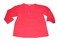 C & A tolles Langarm Shirt Gr. 62 / 68 rot !!