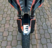 Protección Guardabarros Delantero Adhesivos 3D Compatible X Moto KTM 1190 Hora