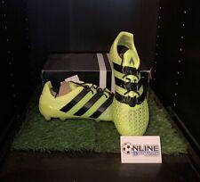 Adidas Ace 16.1 FG/AG - Solar Yellow/Core Black/Silver UK 10, US10.5, EU44(2/3)