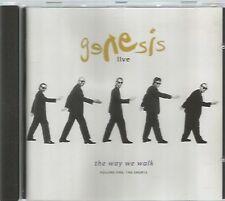 GENESIS   -   LIVE , THE WAY WE WALK. VOLUME 1 : THE SHORTS.    /    IMPORT.