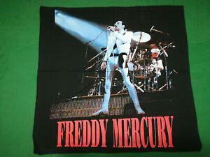 FREDDY MERCURY   - Rare  Vintage BANDANA  cm.47x49  -  Made in Italy.