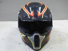 Arctic Cat 501 Orange Black Snowmobile ATV Bike Child Helmet Size Large LG