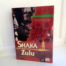 Shaka Zulu (4 DVD) 10 part miniseries A&E sealed brand new rare