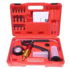 Car Oil Change Suction Pump Brake Bleeder Vacuum Fluid Detector Tester Tool Set