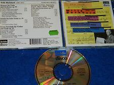CD WILLY BURKHARD viola konzert serenaden U.A SCHILLER RTSI venzago KELTERBORN