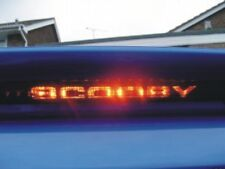 SUBARU IMPREZA WRX STI REAR SPOILER 3RD STRIP LIGHT COVER GLOWS UP SAYING SCOOBY