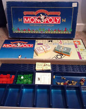 Monopoly Deluxe Anniversary Edition Vintage 1985 Parker Brothers Complete