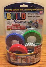 Build Bonanza New Peel & Stick Tape Building Block ~ BlueGreenRedGray