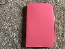 Vintage Austrian Manicure Pedicure Set with Pink Leather Case - Unused