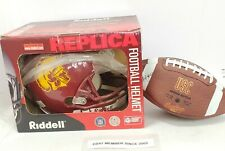 USC REPLICA HELMET BY RIDELL/RAWLINGS SIGNED USC FOOTBALL!