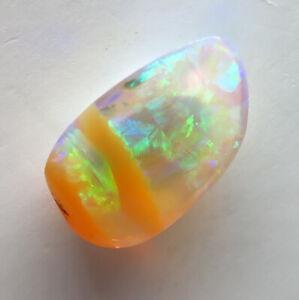 Australian Boulder Pipe Crystal Opal 1.17ct Queensland Natural Stone