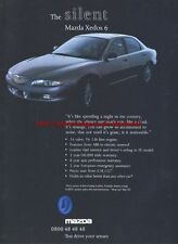 Mazda Xedos 6 Car 1993 Magazine Advert #2148