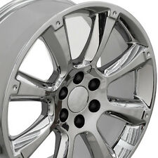 "22"" OEM Wheels Set For Cadillac Escalade Tahoe 22x9 Inch Chrome Rims Set (4)"