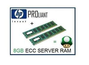 8GB -2x4GB DDR3 ECC Ram Memory Upgrade 4 HP Proliant ML310e Gen8/G8 (V2) Server