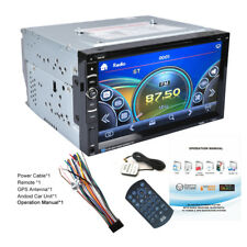 "Autoradio 6.95"" 2 DIN Bluetooth Stereo MP5 GPS Navigatore Touch Screen USB FM"