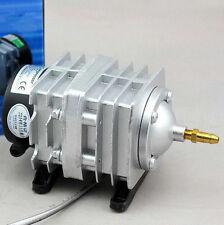 55W Electromagnetic Pond Aquarium Hydroponics Air Oxygen Pump ACO-328 UK Plug