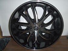 NEW 20 inch 20x10 LEXANI Polaris Machined wheel rim 5x4.25 5x108 +38