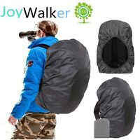 Joy Walker Waterproof Backpack Rain Cover for (15-90L) Black