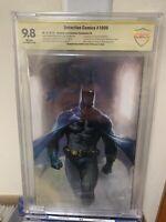 Detective Comics 1000 Del Otto Variant Virgin Cbcs 9.8 SS Batman Joker Catwoman