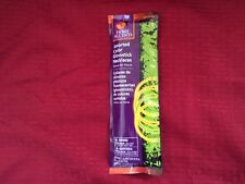 NEW HOME ACCENTS ASSORTED COLOR GLOWSTICK NECKLACES!! 8 COUNT PKG,LOW SHIPPING!!