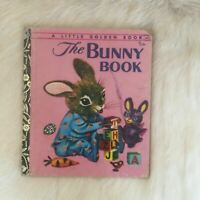The Bunny Book, Little Golden Book Hardcover 1973 Vintage Patsy Scarry Rabbit