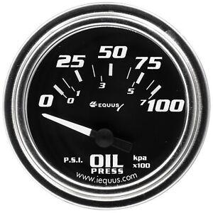 Equus E7264 7000 Series Oil Pressure Gauge