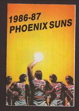 Phoenix Suns--1986-87 Pocket Schedule--Coors