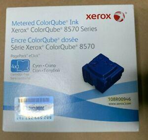 Xerox Metered ColorQube 8570/8580 **Brand New** 4 Pack Cyan 108R00946