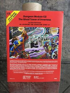 Vintage 1980 - Dungeons & Dragons Dungeon Module C2 - The Ghost Tower