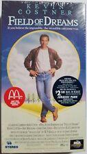 1989 New Sealed Field of Dreams VHS McDonald's Promo Copy Kevin Costner