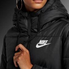 Nike Women's Sportswear Synthetic Fill Hooded Jacket Coat CJ7580-010 Sz.L and XL
