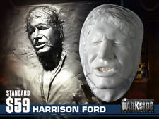 HAN SOLO IN CARBONITE LIFE-SIZE Life Cast Life Mask in Lightweight White Resin