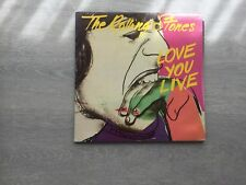 The Rolling Stones-Love You Live 2 vinyl album