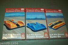 TESTORS  SALT FLAT RACERS X 3  1:32 scale  kits