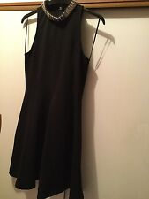 TOPSHOP, Gorgeous Black Skater Party Dress, size 10