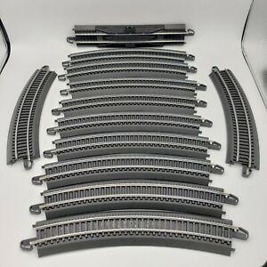 "Bachmann Ho Scale EZ Train Track 9"" ST Terminal Rerailer 11 Curved 1 Straight"