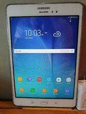 """Samsung Galaxy Tab A SM-T355Y 16GB Wi-Fi+4G Unlocked 8"""" USE AS A PHONE USED"""
