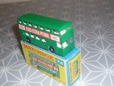 DAIMLER BUS VERT MATCHBOX EN BOITE