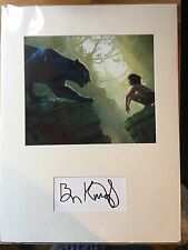 GENUINE HAND SIGNED BEN KINGSLEY AUTOGRAPH PROFESSIONALY MOUNTED