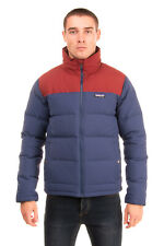 RRP €275 PATAGONIA Down Canvas Quilted Jacket Size S Contrast Yoke Full Zip