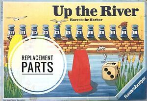 Up the River Race to the Harbor Game Replacement Pieces You Choose Ravensburger