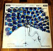 LXT 5592 Stravinsky Symphony in C & 3 Movements Ernest Ansermet EXCELLENT Decca