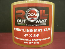 "Wrestling Mat Tape - 4"" x 84' Roll - NEW!!! Roll Out Mat Tape - Strong Tape"