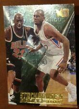 1995-96 Fleer Metal Stackhouse's Scrapbook Michael Jordan 102 Honors Class  S-7