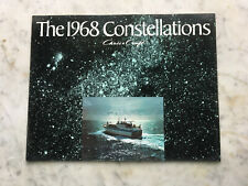 NOS Dealer stock 1968 Chris Craft Constellation Boat Product Catalog Not Issued