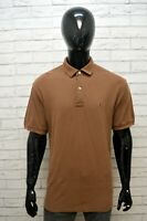 TOMMY HILFIGER Uomo Polo Maglia Taglia XL Maglietta Manica Corta Shirt Cotone