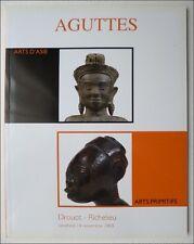 ART PRIMITIF - AFRIQUE ASIE - CATALOGUE VENTE AGUTTES PARIS 14 NOVEMBRE 2008